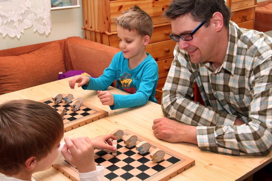 óvodai fejlesztése logikai társasjátékokal
